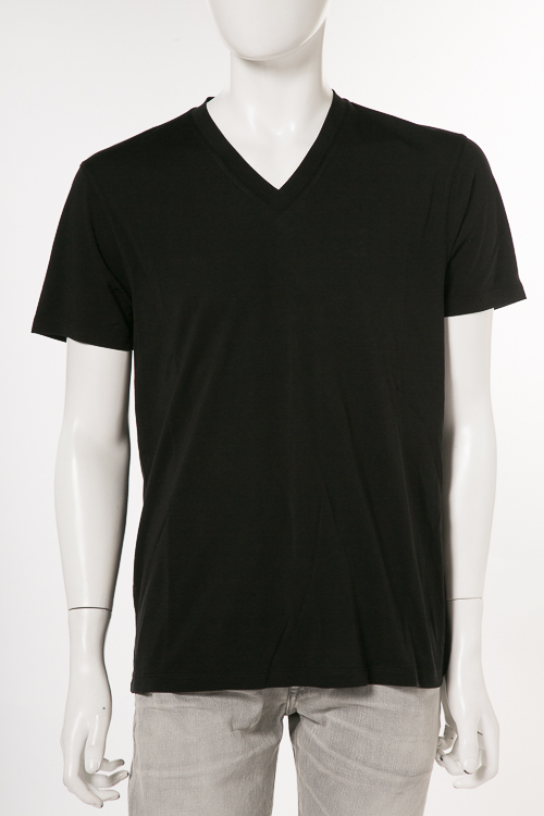 トムフォード TOM FORD Tシャツ 半袖 Vネック メンズ TFJ915 BP229 ブラック 送料無料 楽ギフ_包装 2018年春夏新作 【ラッキーシール対応】