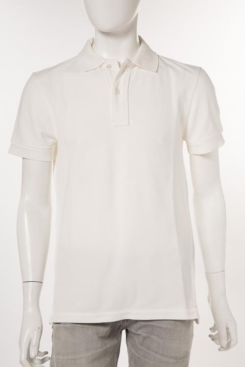 トムフォード TOM FORD ポロシャツ 半袖 メンズ TFJ664 BPJ331 ホワイト 送料無料 楽ギフ_包装 2018年春夏新作 【ラッキーシール対応】