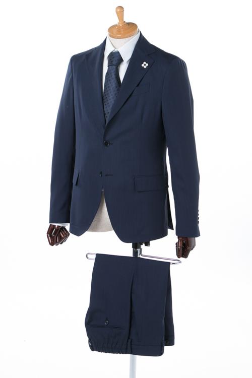 ラルディーニ LARDINI 2ピーススーツ シングル EE038AV EEEW50473 メンズ 038AV EEEW50473 ネイビー 送料無料 2018年春夏新作 2018SS_SALE 【ラッキーシール対応】