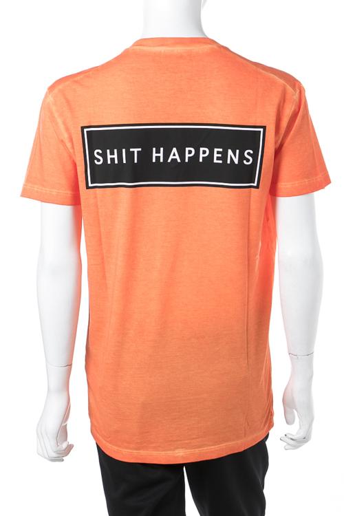 ディースクエアード DSQUARED2 Tシャツ 半袖 Vネック メンズ S71GD0514S21600 オレンジ 送料無料 楽ギフ_包装 【ラッキーシール対応】
