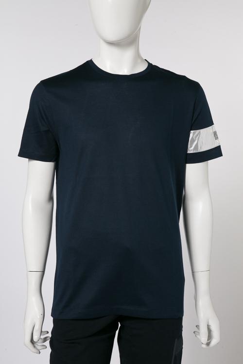 ポールアンドシャーク PAUL&SHARK Tシャツ 半袖 丸首 メンズ E18P1162SF ネイビー 送料無料 楽ギフ_包装 2018年春夏新作 【ラッキーシール対応】