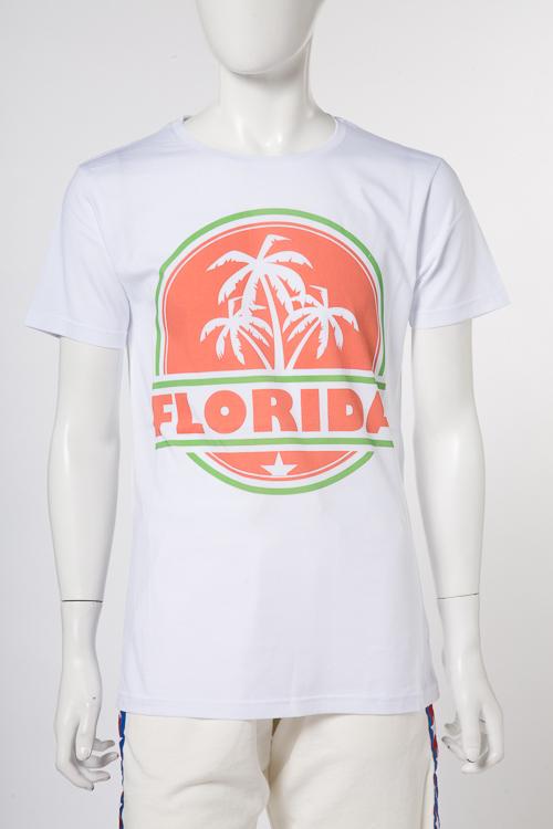 マッキアジェー MACCHIA J Tシャツ 半袖 丸首 FLORIDA T002 メンズ 18SMT BEACHTEES ホワイトA 送料無料 楽ギフ_包装 2018年春夏新作 【ラッキーシール対応】
