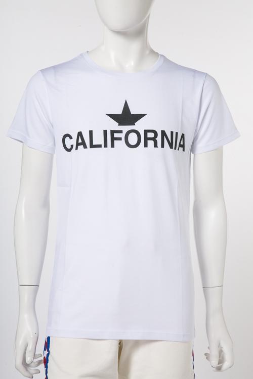 マッキアジェー MACCHIA J Tシャツ 半袖 丸首 CALIFORNIA MJ 014 メンズ 18SMT 32 T3014 ホワイトD 送料無料 楽ギフ_包装 2018年春夏新作 【ラッキーシール対応】