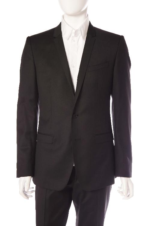 ドルガバ ドルチェ&ガッバーナ DOLCE&GABBANA スーツ 2つボタン センターベント シングル メンズ G1NLCT FU2TF ブラック 送料無料 楽ギフ_包装 アウトレット 【ラッキーシール対応】