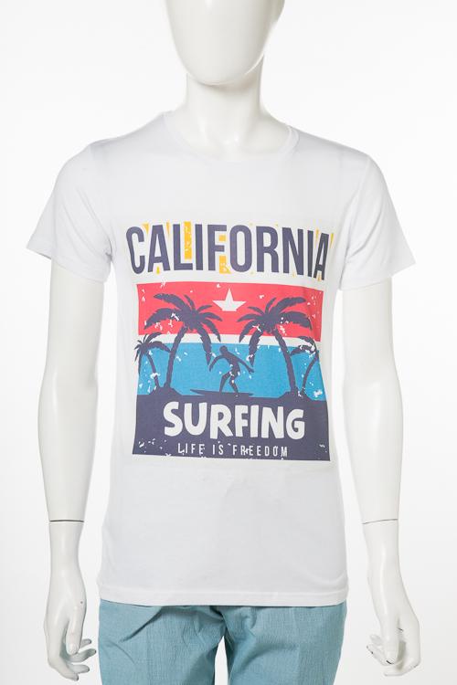 マッキアジェー MACCHIA J Tシャツ 半袖 丸首 SURFING T006 メンズ 18SMT BEACHTEES ホワイトB 送料無料 楽ギフ_包装 2018年春夏新作 【ラッキーシール対応】