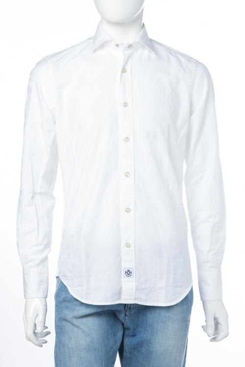 ハイドロゲン HYDROGEN シャツ 長袖 メンズ 220410 ホワイト 送料無料 楽ギフ_包装 2018SS_SALE 【ラッキーシール対応】