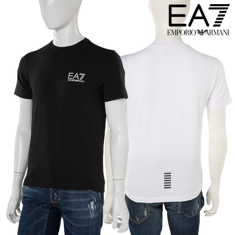 アルマーニ エンポリオアルマーニ Emporio Armani EA7 Tシャツ 半袖 丸首 メンズ 3ZPT52 PJ03Z 送料無料 楽ギフ_包装 【ラッキーシール対応】