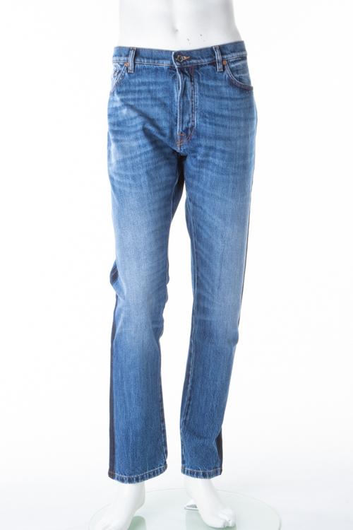 ヴァレンティノ Valentino ジーンズパンツ デニム CHINOS メンズ KV0DEJ0031K ブルー 送料無料 楽ギフ_包装 【ラッキーシール対応】