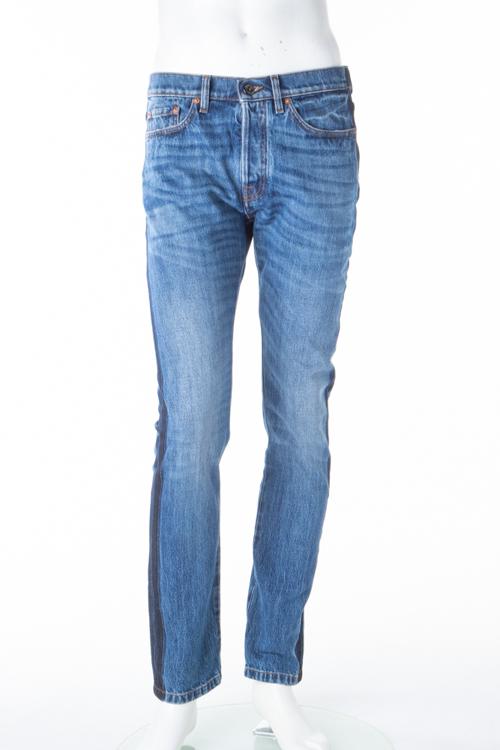 ヴァレンティノ Valentino ジーンズパンツ デニム SLIM FIT メンズ KV0DEJS131K ブルー 送料無料 楽ギフ_包装 【ラッキーシール対応】