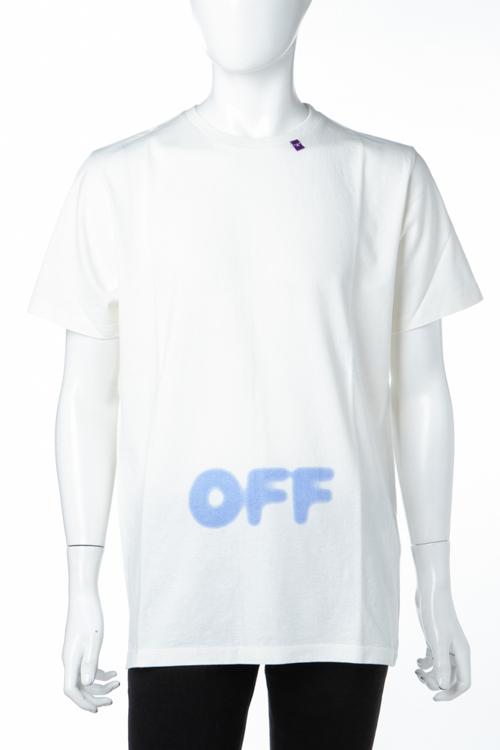 オフホワイト OFF-WHITE Tシャツ 半袖 丸首 クルーネック OMAA027F181850380230 メンズ AA027F18 185038 ホワイト 送料無料 楽ギフ_包装 2018年秋冬新作 【ラッキーシール対応】