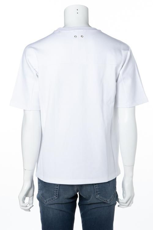 ディーゼル DIESEL Tシャツ 半袖 丸首 クルーネック T-SOME MAGLIETTA メンズ 00S2MR 0DAQJ ホワイト 送料無料 楽ギフ_包装 【ラッキーシール対応】