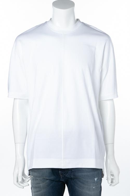 ディーゼル DIESEL Tシャツ 半袖 丸首 クルーネック TRIPO MAGLIETTA メンズ 00SZ84 BGTJB ホワイト 送料無料 楽ギフ_包装 【ラッキーシール対応】