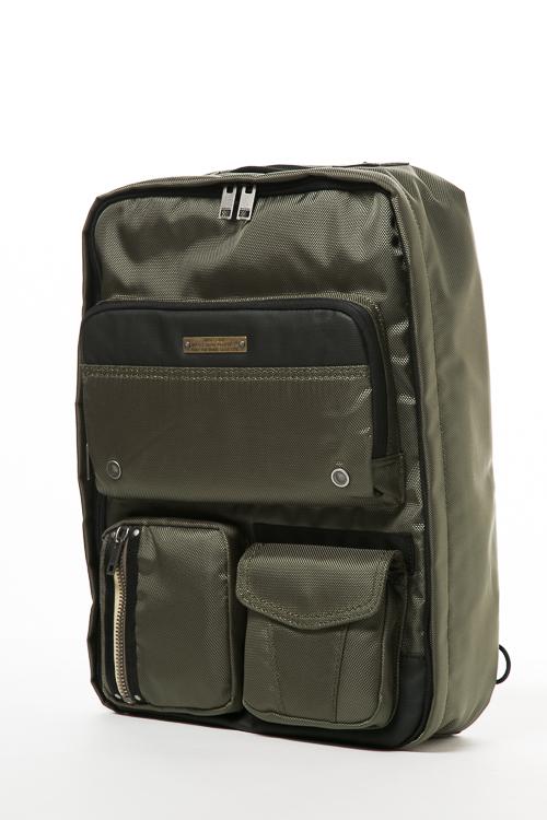 ディーゼル DIESEL リュックバッグ リュックサック バックパック ビジネスバッグ GEAR BACK - backpack X03782 P0881 カーキ 送料無料 【ラッキーシール対応】