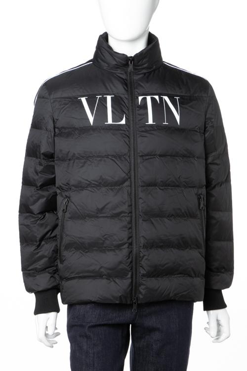 ヴァレンティノ Valentino ダウンブルゾン ダウンジャケット メンズ QV3CNA36 52H ブラック 送料無料 ラッキーシール対応 2018年秋冬新作