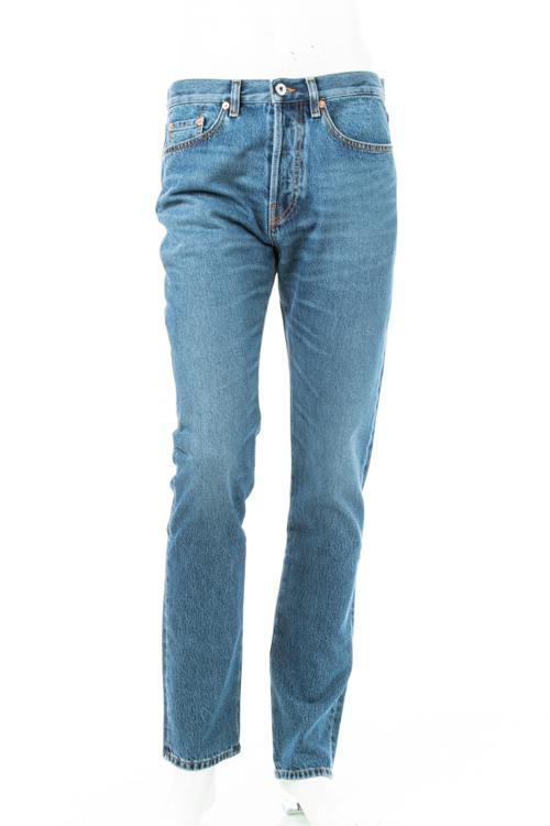 ヴァレンティノ Valentino ジーンズパンツ デニム SLIM FIT メンズ QV3DES1J 3EW ブルー 送料無料 楽ギフ_包装 2018年秋冬新作 【ラッキーシール対応】
