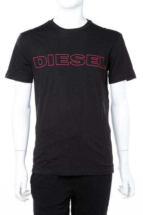 ディーゼル DIESEL Tシャツアンダーウェア Tシャツ 半袖 丸首 クルーネック 900 メンズ 00CG46 0DARX ブラック 楽ギフ_包装 ラッキーシール対応