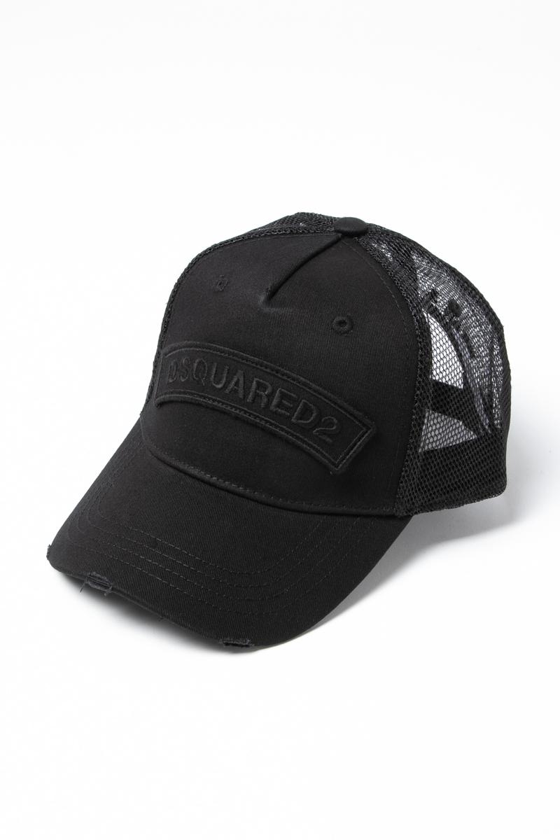 ディースクエアード DSQUARED2 キャップ ベースボールキャップ 帽子 BCM110113550001 ブラック 送料無料 楽ギフ_包装 ラッキーシール対応 2018年秋冬新作