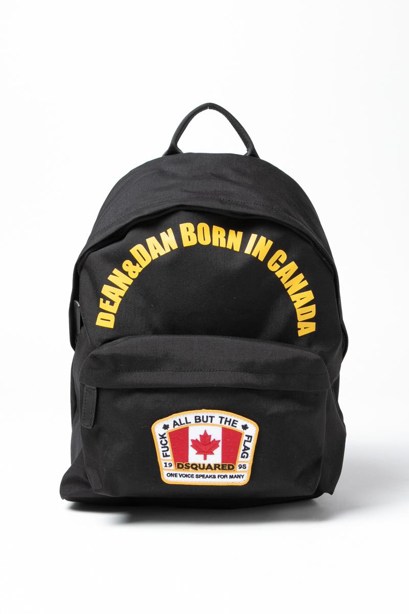 ディースクエアード DSQUARED2 リュックバッグ リュックサック バックパック カバン 鞄 BPM000411700400 ブラック 送料無料 ラッキーシール対応 2018年秋冬新作