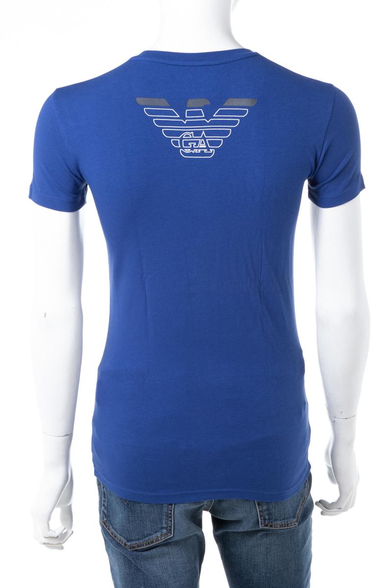 アルマーニ エンポリオアルマーニ Emporio Armani Tシャツアンダーウェア Tシャツ 半袖 丸首 クルーネック メンズ 111035 8A725 ブルー 送料無料 楽ギフ_包装 【ラッキーシール対応】