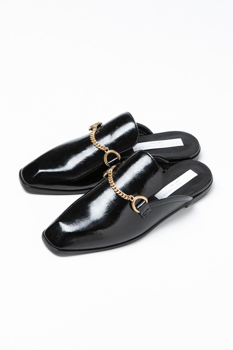 ステラマッカートニー STELLA McCARTNEY シューズ サンダル スリッパ 靴 レディース 468278 W1CM0 ブラック 送料無料