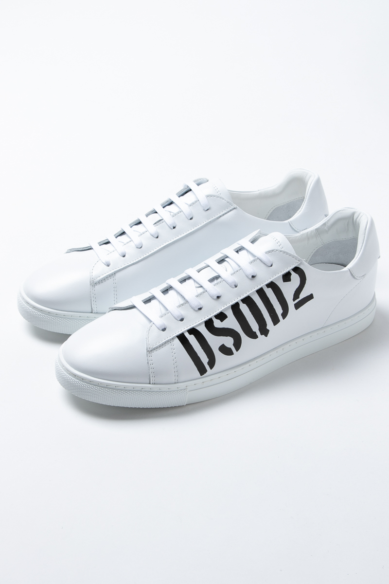 ディースクエアード DSQUARED2 スニーカー ローカット シューズ 靴 メンズ SNM000501501652 ホワイト 送料無料 2019年春夏新作 2019SS_SALE