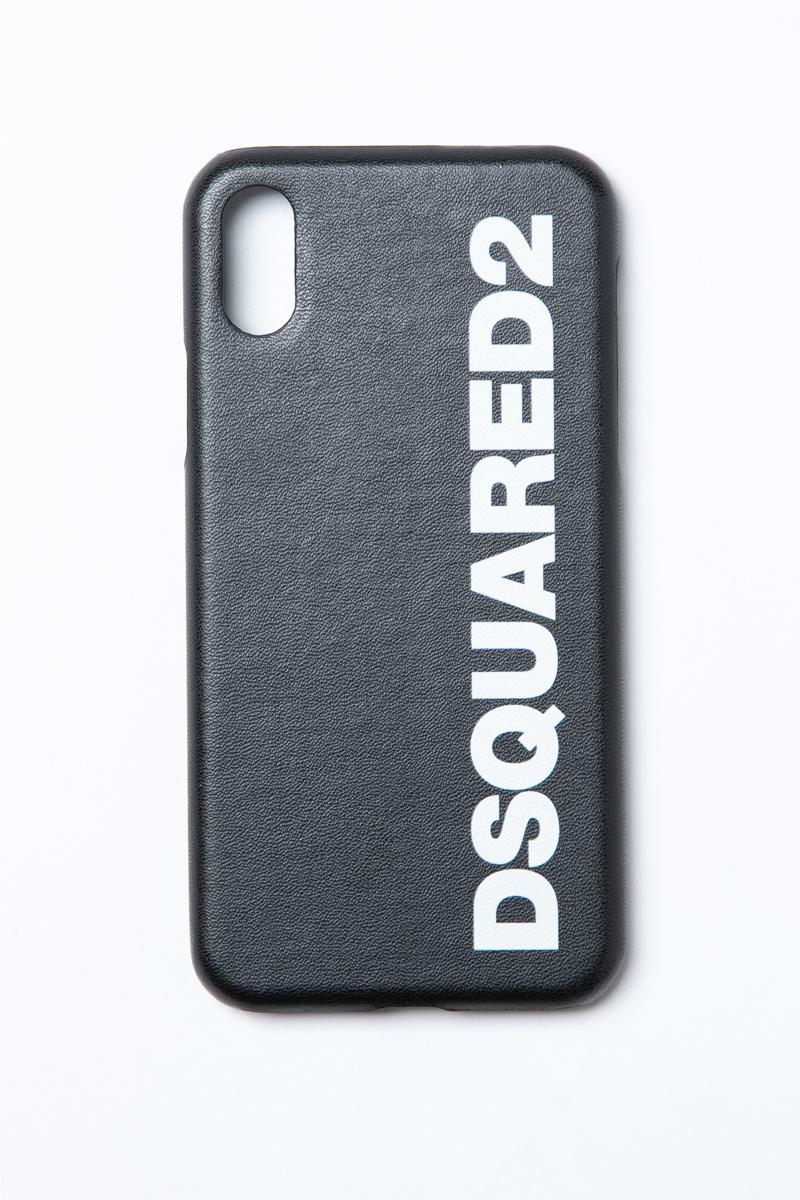 ディースクエアード DSQUARED2 iPhoneケース アイフォンケース iPhoneX対応 ITM003835801148 ブラック 送料無料 楽ギフ_包装 2019年春夏新作 【ラッキーシール対応】