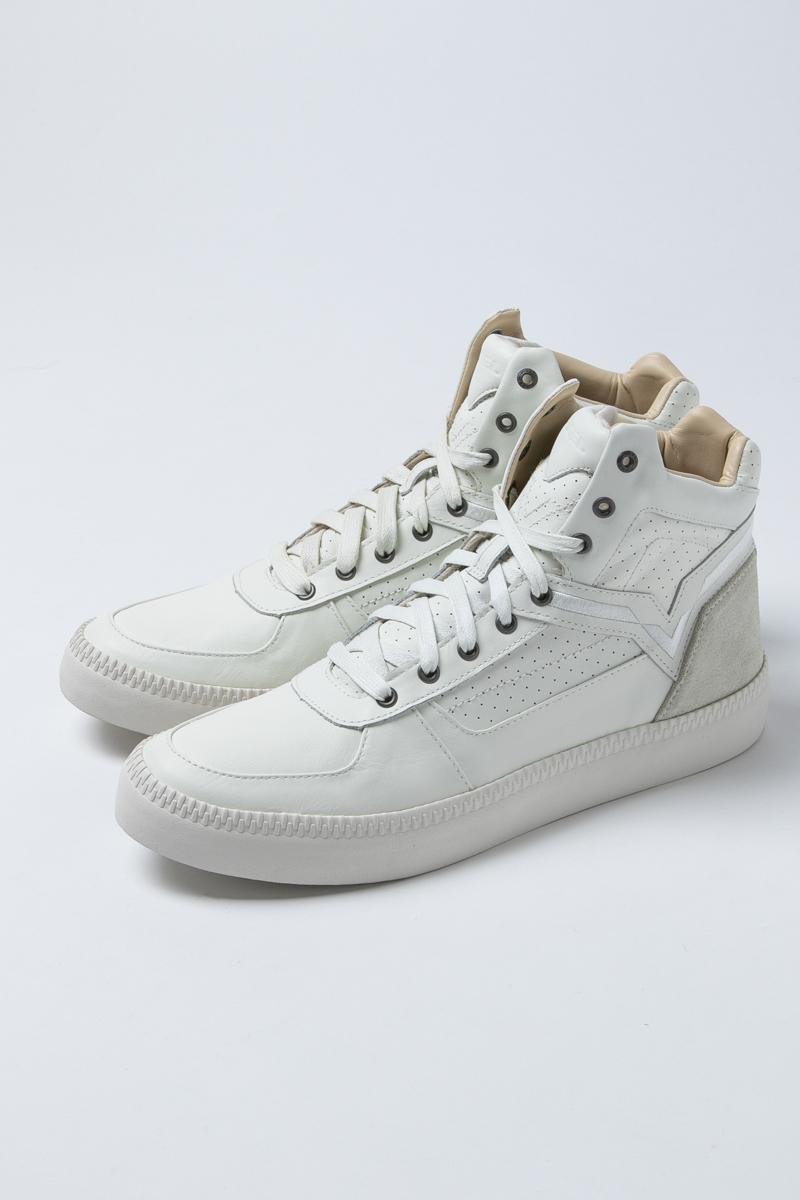 ディーゼル DIESEL スニーカー ハイカット シューズ 靴 V IS FOR DIESEL メンズ Y01368 P1193 ホワイト 送料無料 楽ギフ_包装 アウトレット 【ラッキーシール対応】