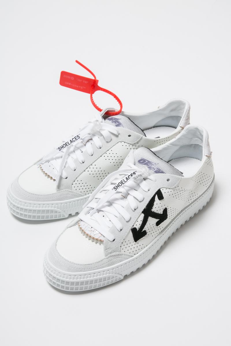 オフホワイト OFF-WHITE スニーカー ローカット シューズ 靴 OMIA112R19B270010110 メンズ IA112R19 B27001 ホワイト×ブラック 送料無料 2019年春夏新作
