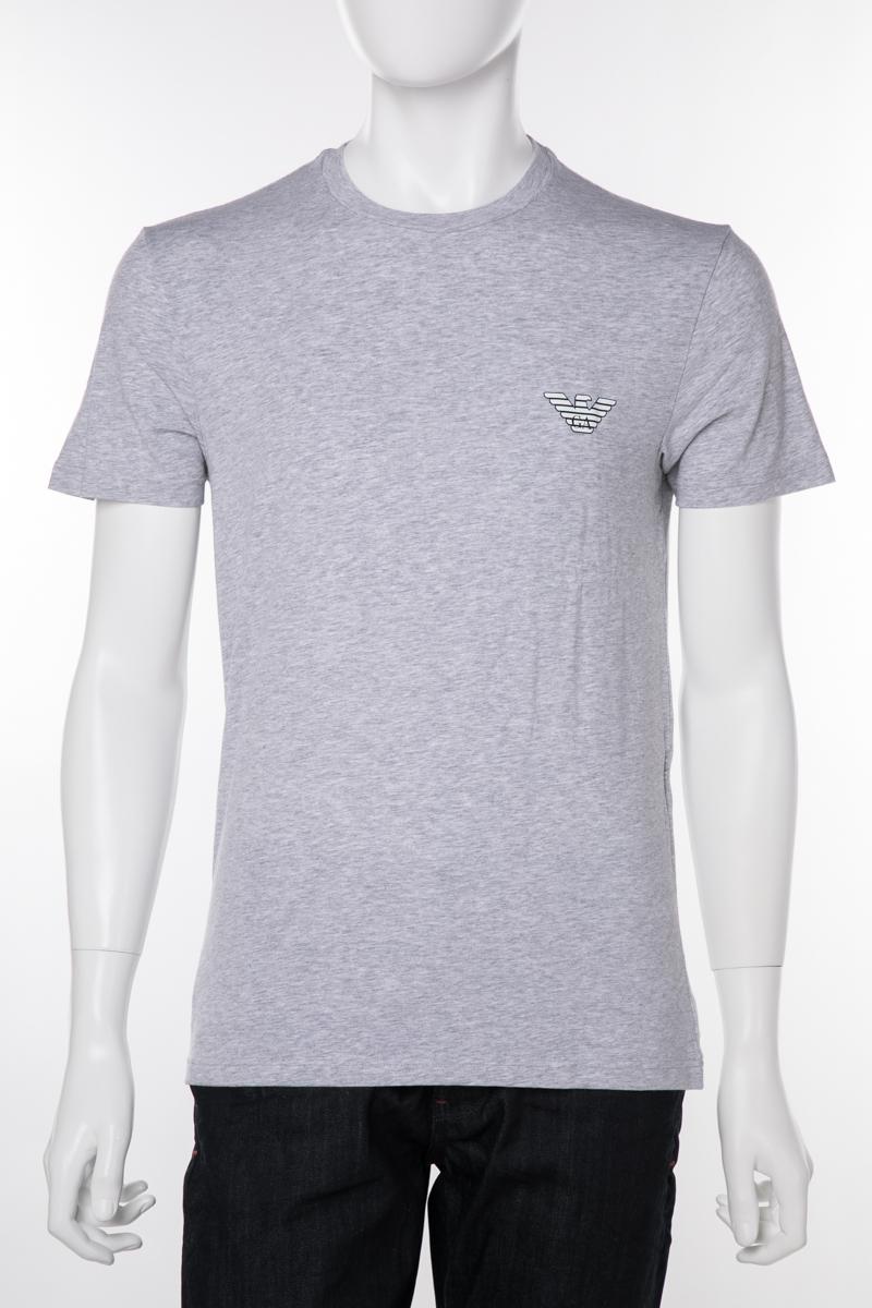 アルマーニ エンポリオアルマーニ Emporio Armani Tシャツアンダーウェア Tシャツ 半袖 丸首 クルーネック メンズ 110853 9P525 グレー 送料無料 楽ギフ_包装 【ラッキーシール対応】