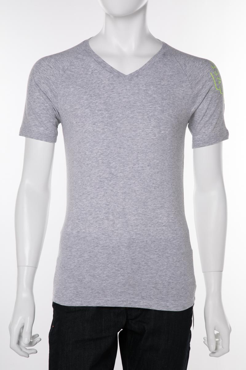 アルマーニ エンポリオアルマーニ Emporio Armani Tシャツアンダーウェア Tシャツ 半袖 Vネック メンズ 111760 9P725 グレー 送料無料 楽ギフ_包装 【ラッキーシール対応】