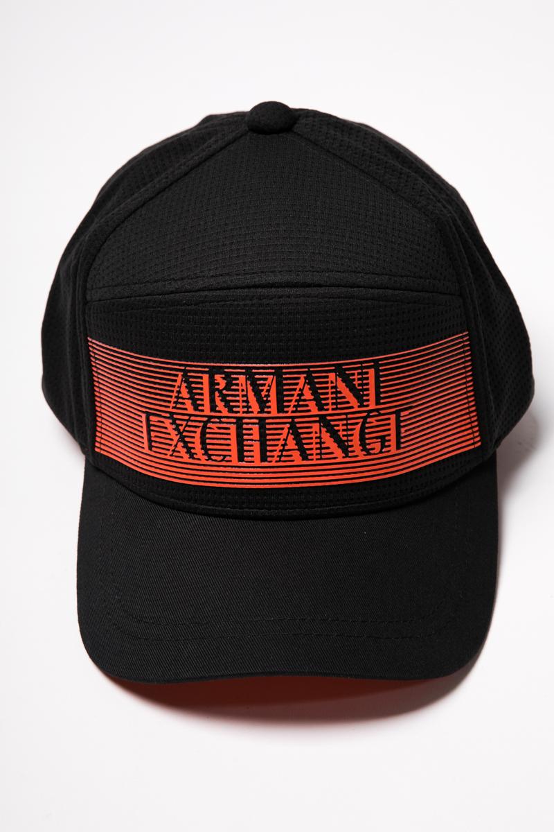 アルマーニ エクスチェンジ ARMANI EXCHANGE キャップ ベースボールキャップ 帽子 954035 9P143 ブラック 送料無料 楽ギフ_包装 【ラッキーシール対応】