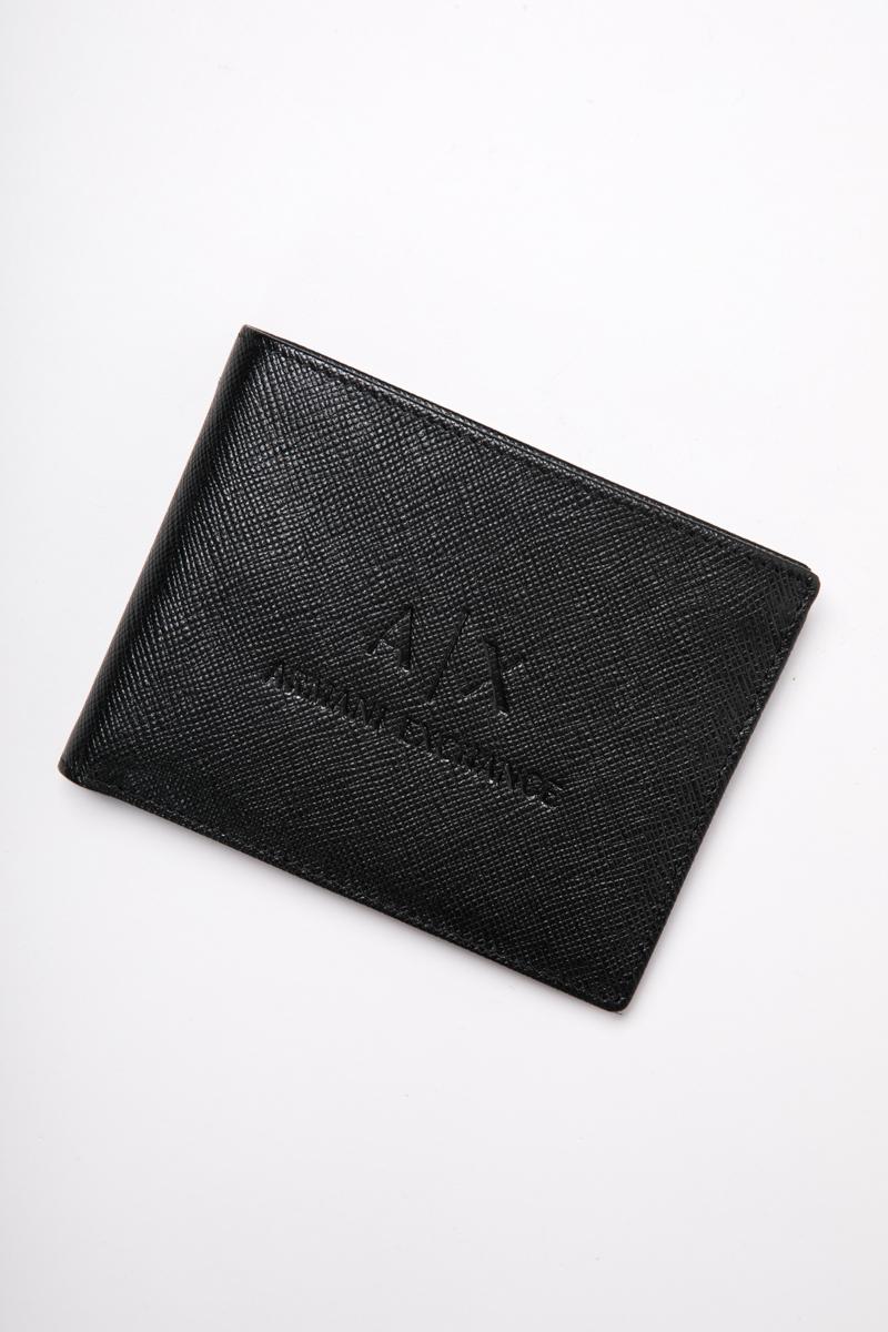 アルマーニ エクスチェンジ ARMANI EXCHANGE 財布 2つ折り財布 958058 CC223 ブラック 送料無料 楽ギフ_包装 【ラッキーシール対応】