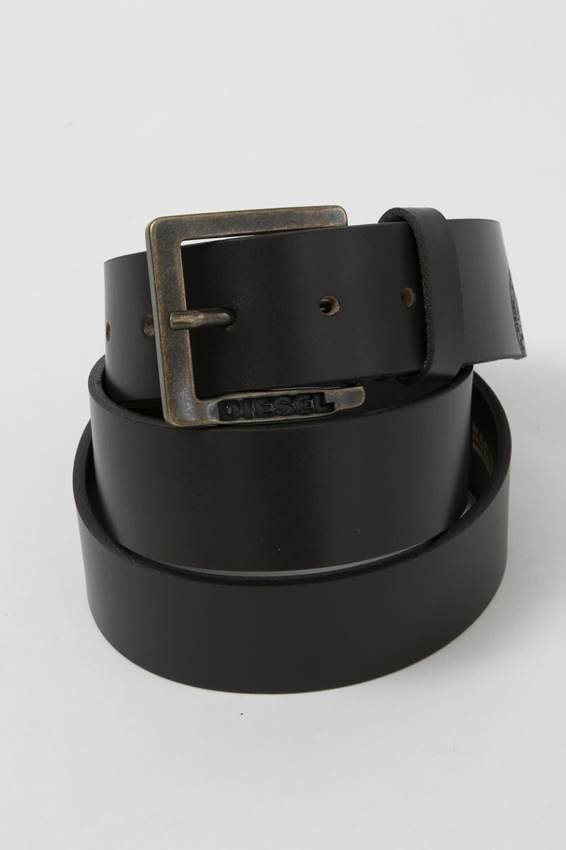 ディーゼル DIESEL ベルト レザーベルト BELT MINO6 - belt X05112 PR404 ダークブラウン 送料無料 楽ギフ_包装 【ラッキーシール対応】