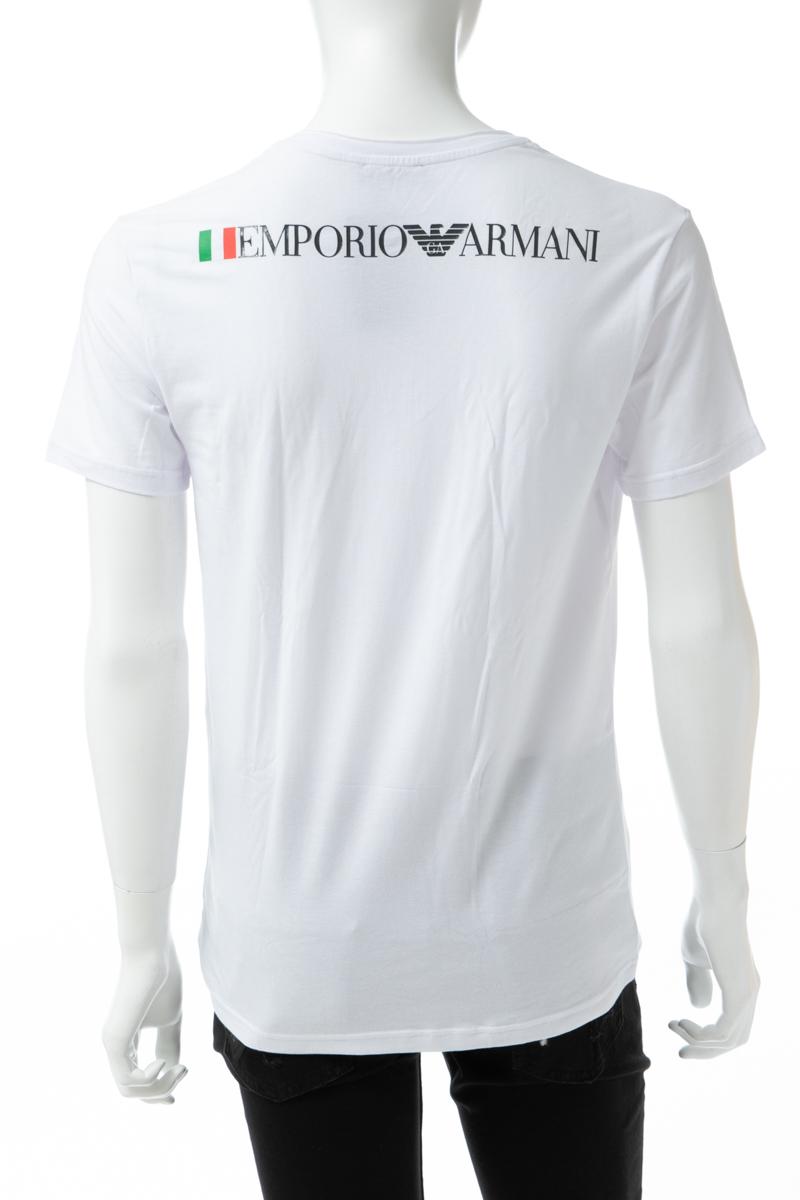 アルマーニ エンポリオアルマーニ Emporio Armani Tシャツアンダーウェア Tシャツ 半袖 Vネック メンズ 111767 9P510 ホワイト 送料無料 楽ギフ_包装 【ラッキーシール対応】