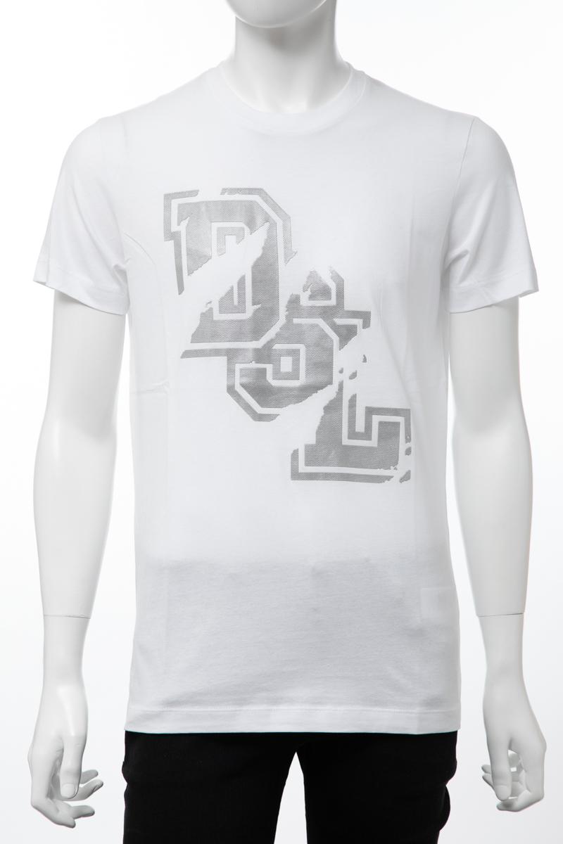 ディーゼル DIESEL Tシャツ 半袖 丸首 クルーネック T-DIEGO-TF MAGLIETTA メンズ 00SA5I 0HARE ホワイト 送料無料 楽ギフ_包装 【ラッキーシール対応】