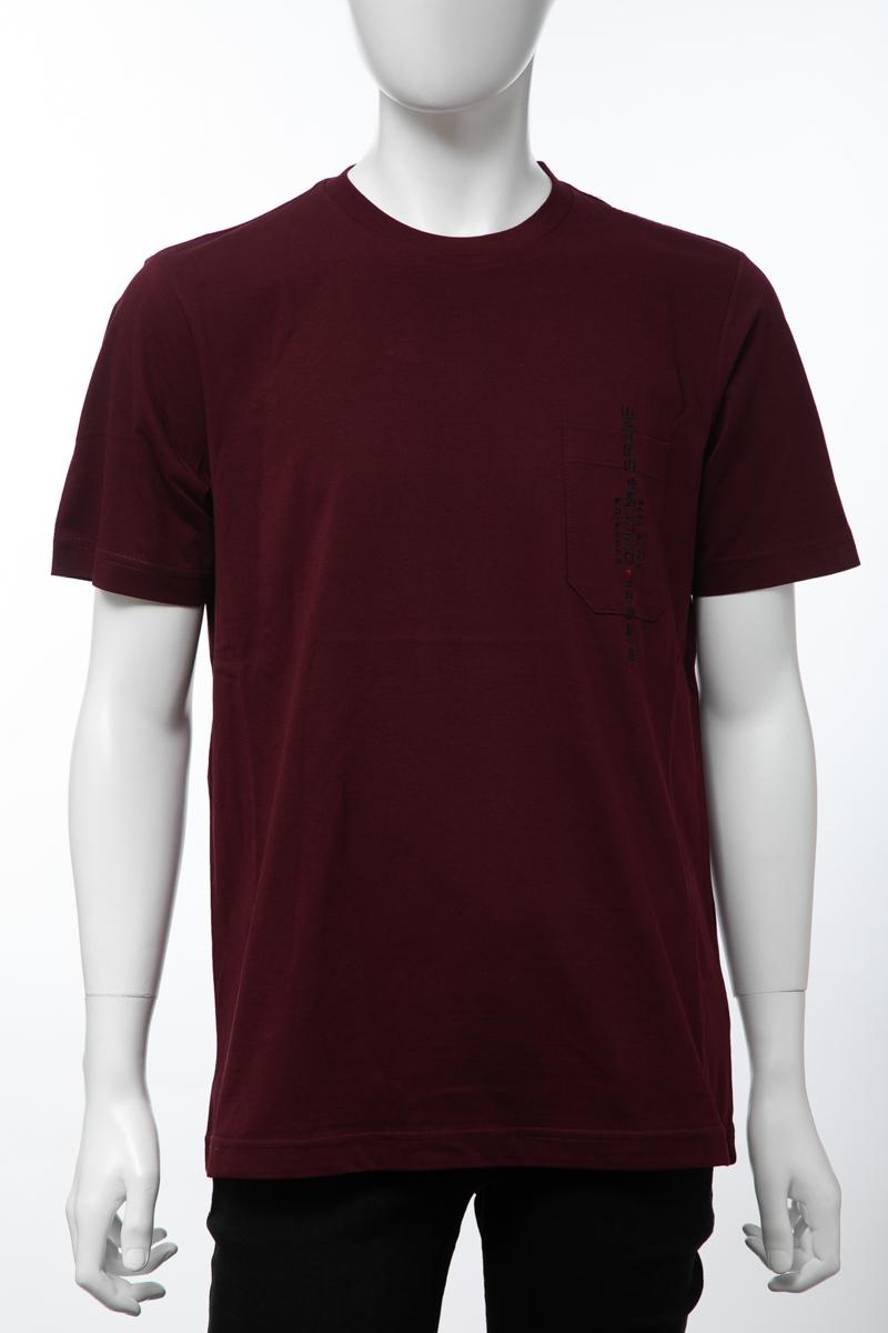 ディーゼル DIESEL Tシャツ 半袖 丸首 クルーネック T-JUST-POCKET MAGLIETTA メンズ 00SH13 0BASU パープル 送料無料 楽ギフ_包装 【ラッキーシール対応】