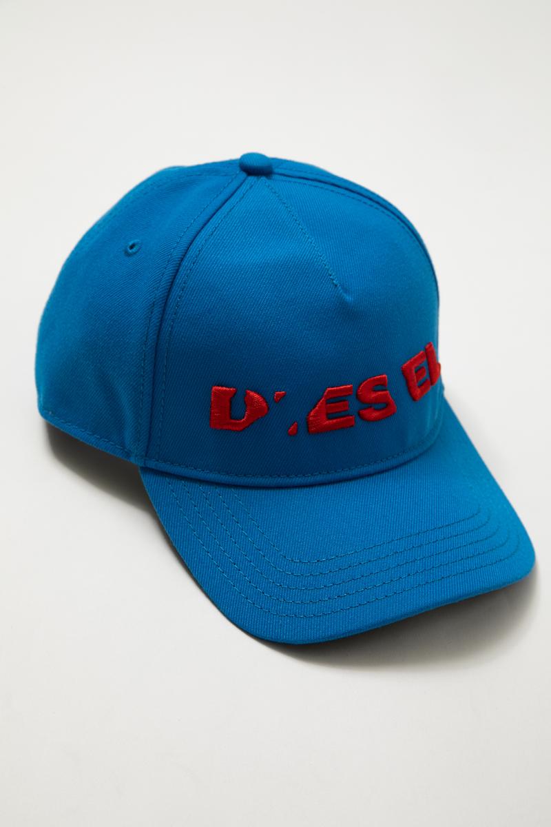 ディーゼル DIESEL キャップ ベースボールキャップ 帽子 CIDIES CAPPELLO 00S9G4 0LAOI ブルー 楽ギフ_包装 【ラッキーシール対応】