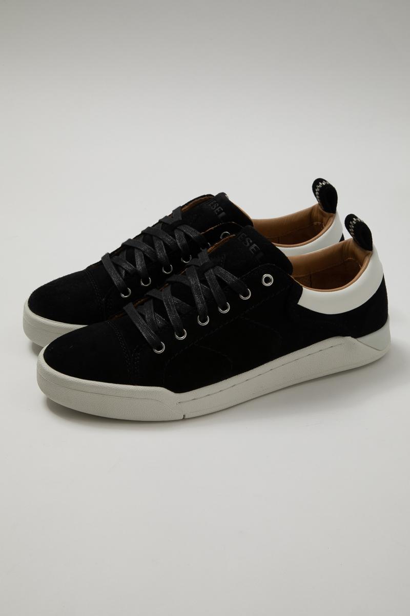ディーゼル DIESEL スニーカー ローカット シューズ 靴 S-MARQUISE LOW - sneakers メンズ Y01689 PR216 ブラック 送料無料