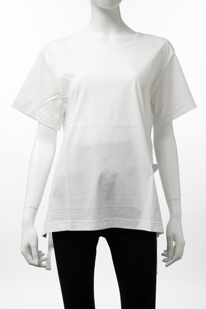 ディーゼル DIESEL Tシャツ 半袖 丸首 クルーネック T-FLEURIS TOP レディース 00SH54 0QANW ホワイト 送料無料 楽ギフ_包装 【ラッキーシール対応】