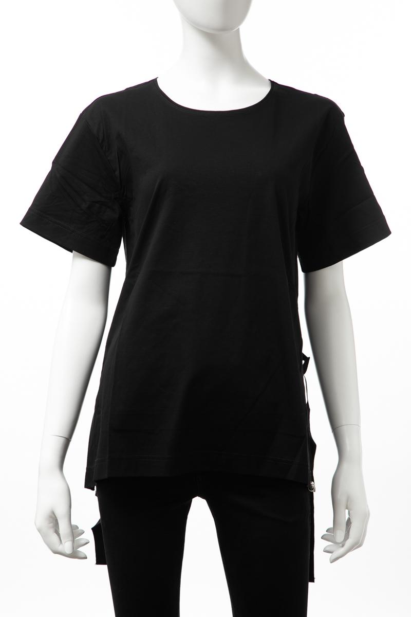 ディーゼル DIESEL Tシャツ 半袖 丸首 クルーネック T-FLEURIS TOP レディース 00SH54 0QANW ブラック 送料無料 楽ギフ_包装 【ラッキーシール対応】