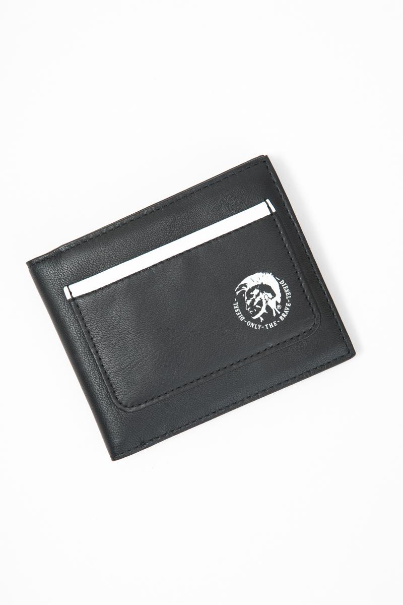 ディーゼル DIESEL 財布 2つ折り HIRESH S - wallet X05852 P1508 ブラック 送料無料 楽ギフ_包装 【ラッキーシール対応】