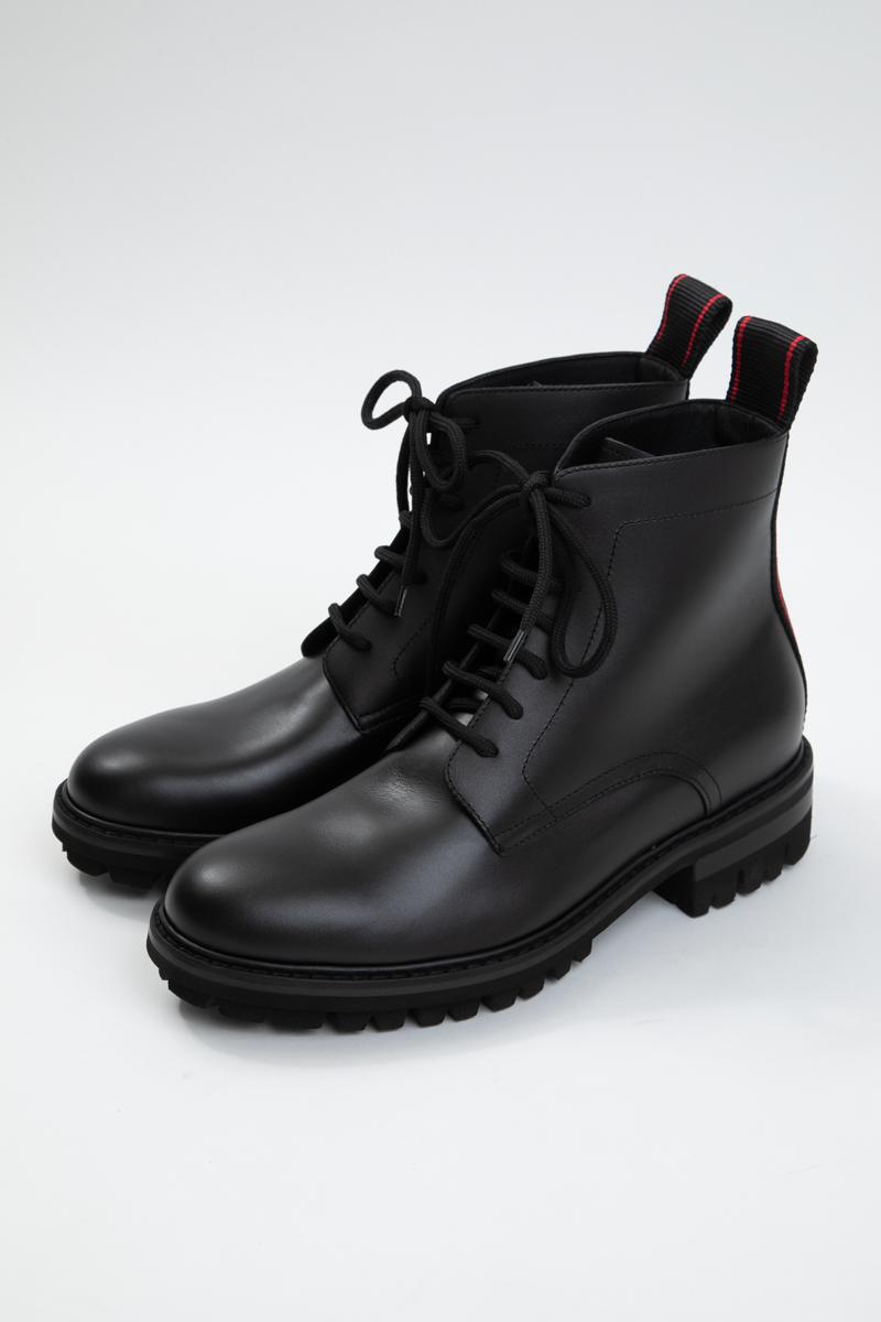 ディースクエアード DSQUARED2 ブーツ レザーブーツ シューズ 靴 メンズ ABM002501500001 ブラック 送料無料 2019年秋冬新作 2019AW_SALE
