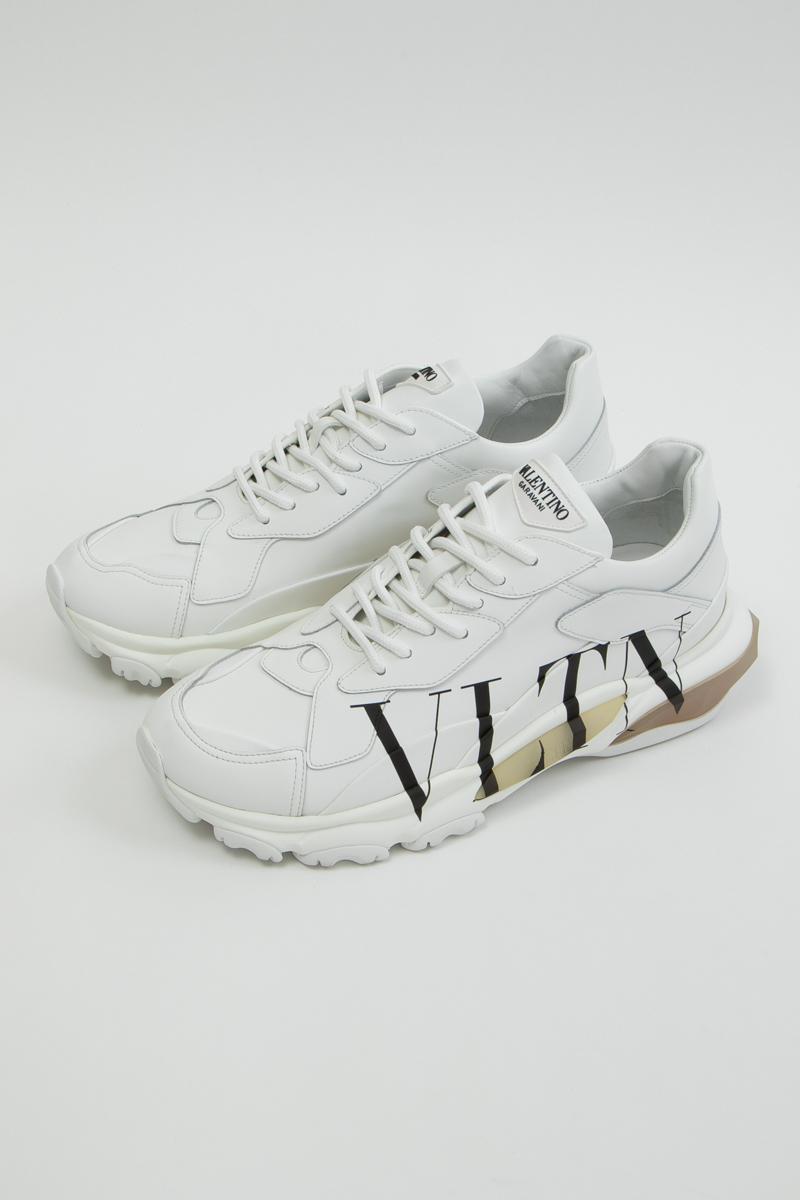 ヴァレンティノ Valentino スニーカー ローカット シューズ 靴 メンズ SY2S0B21RKW ホワイト 送料無料 楽ギフ_包装 2019年秋冬新作