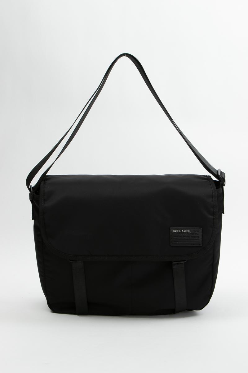 ディーゼル DIESEL ショルダーバッグ ボディバッグ 鞄 F-DISCOVER MESSENGER - cross bodybag X06507 PR886 ブラック 送料無料 【ラッキーシール対応】