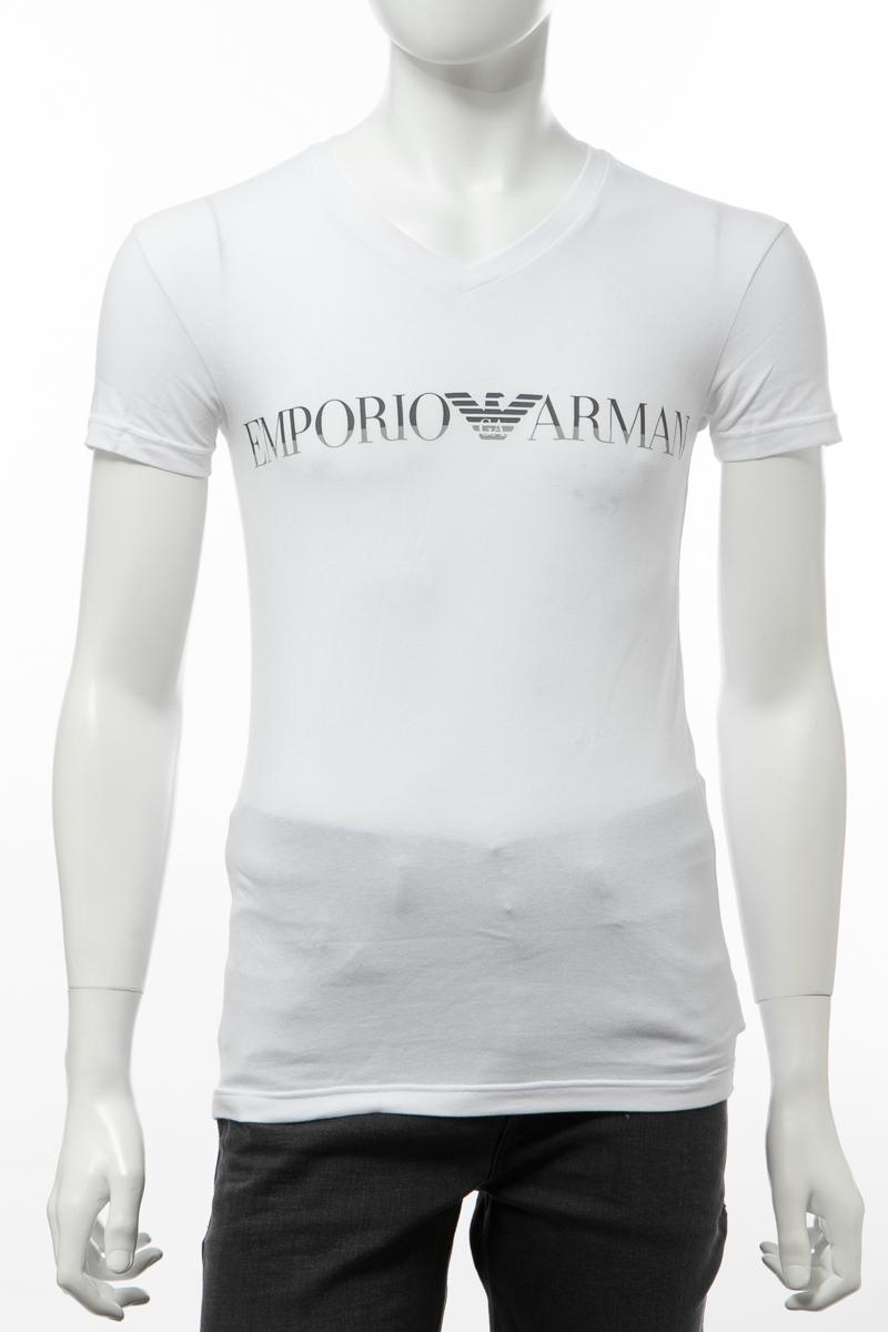 エンポリオアルマーニ Emporio Armani Tシャツアンダーウェア 半袖 丸首 クルーネック メンズ 110810 9A516 ホワイト 送料無料 楽ギフ_包装 2019年秋冬新作 【ラッキーシール対応】