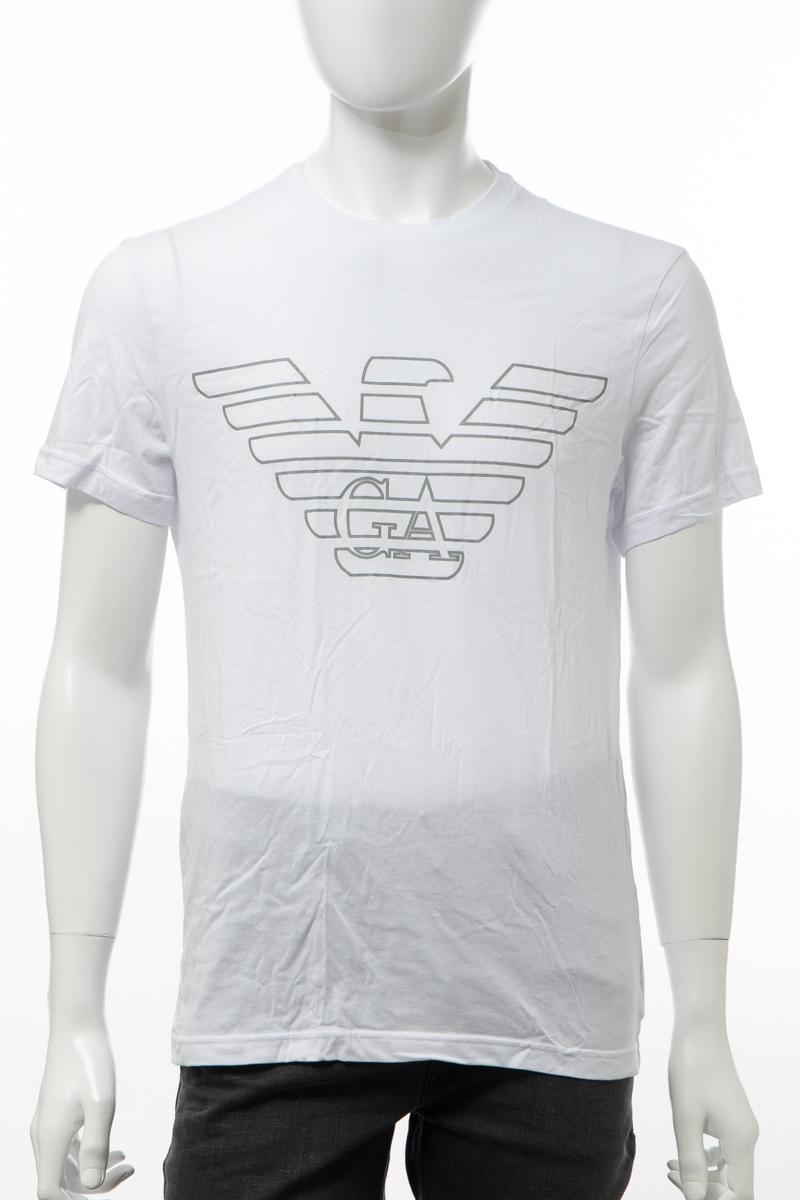 エンポリオアルマーニ Emporio Armani Tシャツアンダーウェア 半袖 丸首 クルーネック メンズ 111019 9A578 ホワイト 送料無料 楽ギフ_包装 2019年秋冬新作 【ラッキーシール対応】