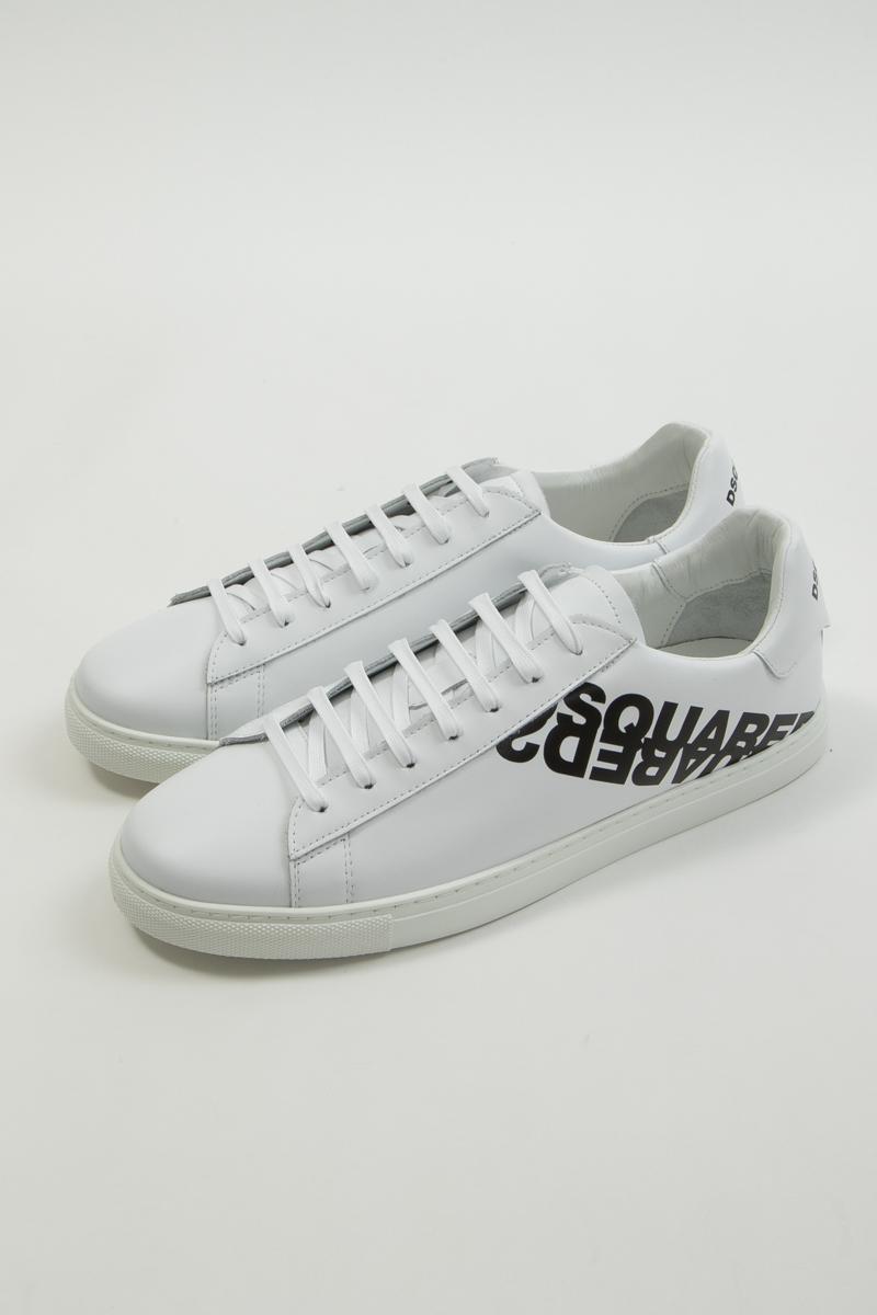 ディースクエアード DSQUARED2 スニーカー ローカット シューズ 靴 メンズ SNM000501501675 ホワイト 送料無料 楽ギフ_包装 2020年春夏新作 2020SS_SALE