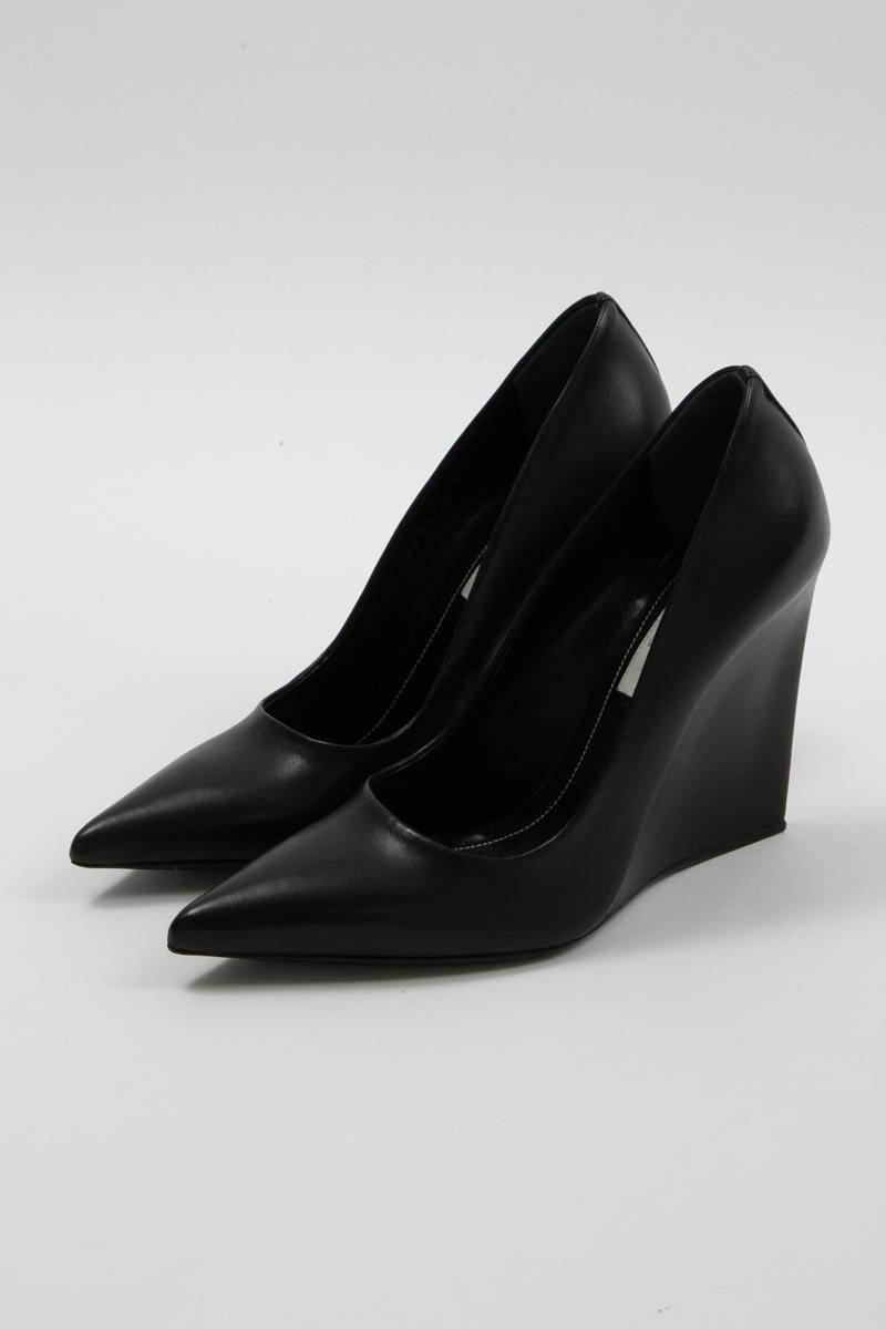 バレンシアガ BALENCIAGA パンプス ポインテッドトゥ 靴 レディース 363492 WAUQ0 ブラック 送料無料 楽ギフ_包装