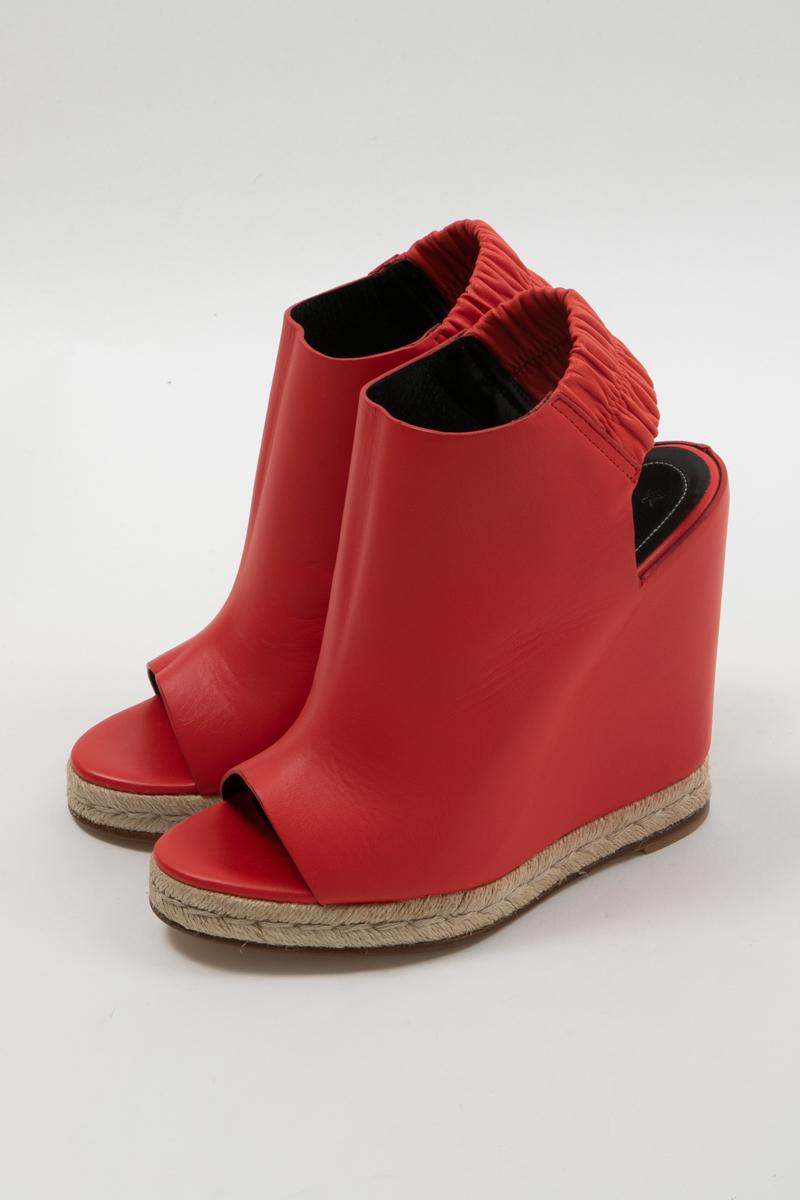 バレンシアガ BALENCIAGA サンダル 靴 レディース 400299 WASC4 レッド 送料無料 楽ギフ_包装
