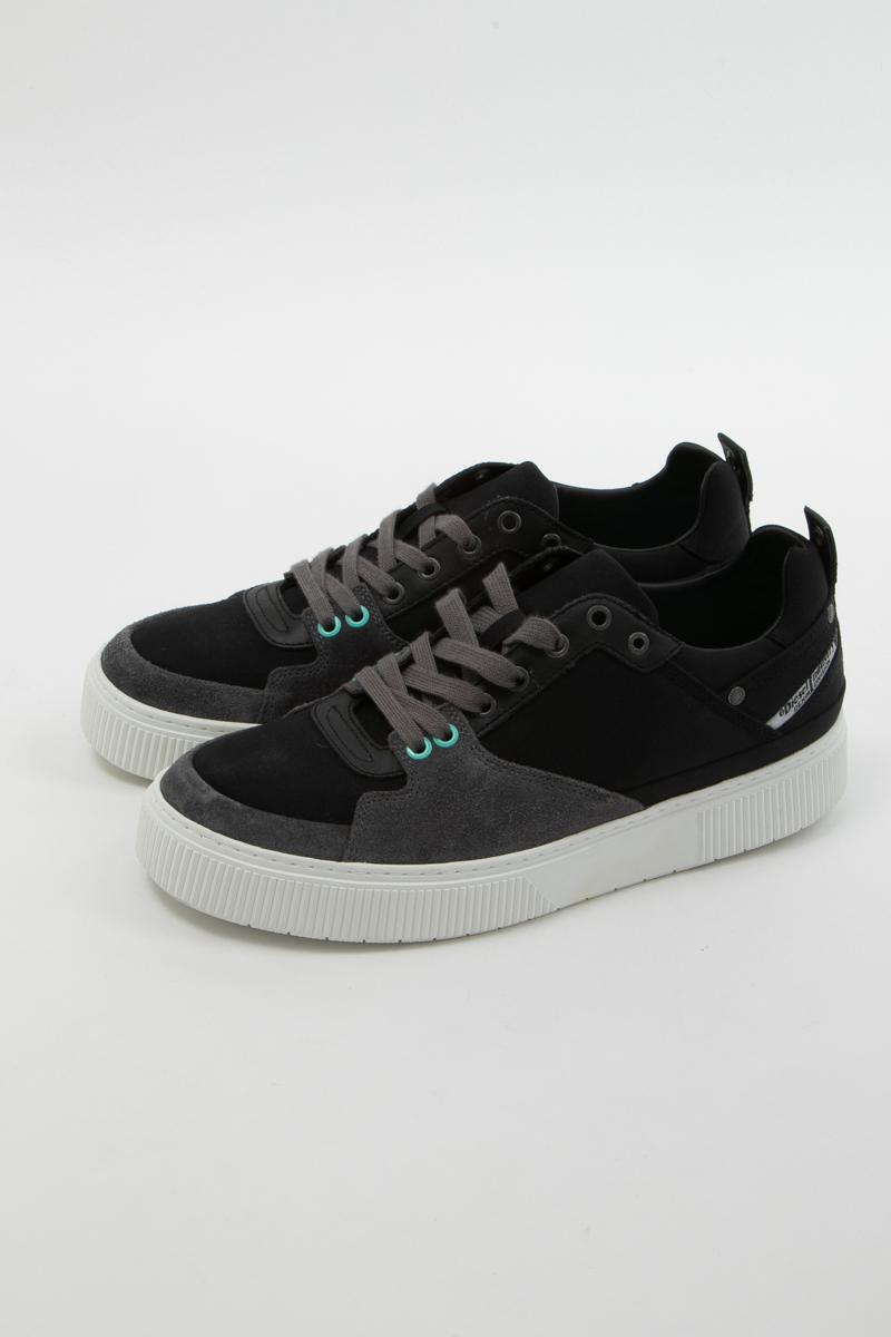 ディーゼル DIESEL スニーカー ローカット シューズ 靴 S-DANNY LC - sneakers メンズ Y01798 P0334 ブラック 送料無料 楽ギフ_包装